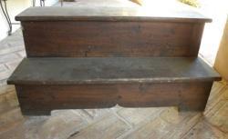 Come riciclare una vecchia scaletta impolverata?