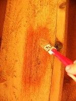 verniciare mobile legno